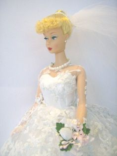 Of course Barbie always has the perfect dress.