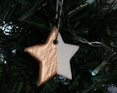 Handmade Star Decoration / Rose Gold