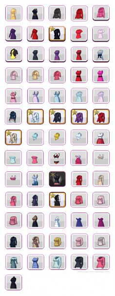 Kim Kardashian: Hollywood Game Clothing Guide - Shirts, Dresses