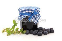 Borůvkový džem — Stock obrázek #3545355
