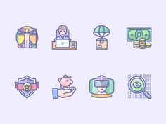 As I do every month, I collected the best icons to give you this essential pinch of inspiration and keep the fire inside of you burning. Take a peak into these different styles and unique approaches towards icon design! It's always a great pleasure to discover them. I'm pretty sure that you will find some fantastic icon designers and icon sets amongst the ones I selected for you this time.