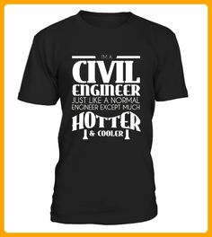 Civil Engineer is Hotter T Shirt - Ostern shirts (*Partner-Link)