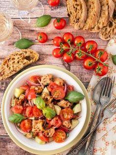 Panzanella saláta recept