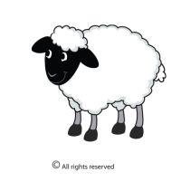 New Works! New Words, Sheep, Illustration, Fictional Characters, Image, Art, Art Background, Kunst, Illustrations