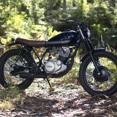 Yamaha SR 250 Street Tracker – Trinta&Um Motorcycles