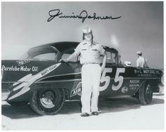 Junior Johnson, b. 1931. 5 victories. Named 1 of NASCAR's 50 greatest drivers. NASCAR Hall of Fame inductee (2010).