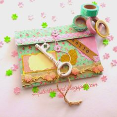 The Lost Art of Letter Writing...Revived!: Bi-Fold Pocket Letter ...Shabby Chic Charm