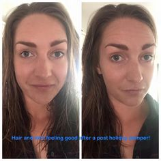 Skin and hair loads better after just a couple of weeks! Nu Skin Mascara, Foundation, Wellness, Feelings, Couples, Hair, Romantic Couples, Couple, Foundation Series