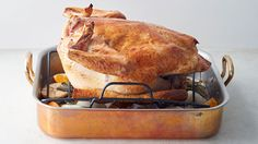 For super-flavorful gravy, scatter cut oranges, onion, and garlic, along with a few rosemary and sage sprigs, in the bottom of the pan before you begin roasting the turkey.