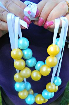 12 Real Shimmer Gumball Necklace Birthday by ChasingPinkFireFlies, $30.00
