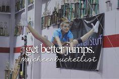 I need better jumps!