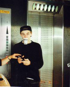 Leonardo DiCaprio. he's such a baby!
