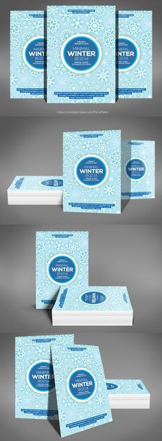 Winter Fair Flyer Template  Postermywall  Free Winter Flyer