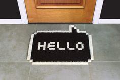 Un #paillasson qui en dit long ^^ Idéal pour les #bureaux ou les #appartements ! Trouvé sur : http://www.kollori.com/decoration-de-bureau/pour-le-bureau/paillasson-original-entree-de-bureau.html