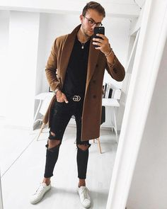 menswear which look cool which look cool Latest Mens Fashion, Dope Fashion, Daily Fashion, Fashion Boots, Modern Mens Fashion, Cheap Fashion, Fashion Trends, Men Fashion, Fashion Ideas