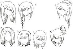 Female Anime Hair 2 by alicewolfnas