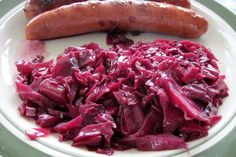 Many German cabbage recipes start with a glass of red cabbage or sauerkraut from the store. This cooked red cabbage recipe is a simple way to make great Rotkohl from scratch. Try this homemade red cabbage recipe for your next Sunday dinner.