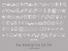 Free Hand Drawn Icon Set