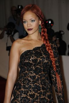Rihanna au Met Gala 2011