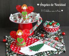 Ángeles de Navidad