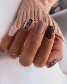 Stylish Nails, Trendy Nails, Matte Nails, My Nails, Glitter Nails, Short Gel Nails, Gel Nail Designs, Nails Design, Ballerina Nails
