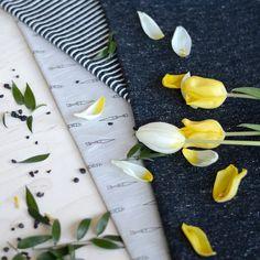 NUOLI, Soft Gray | NOSH Fabrics Spring & Summer 2016 Collection - Shop at en.nosh.fi | Kevään 2016 malliston kankaat saatavilla nyt nosh.fi