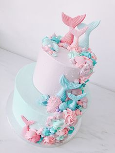 #mermaids #mermaidcake #cakes