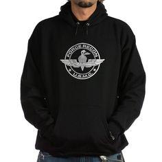 Force Recon - USMC (B-W) Hoodie (dark)