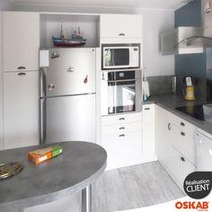 Meuble angle cuisine sur pinterest meuble angle meuble - Cuisine couleur ivoire ...