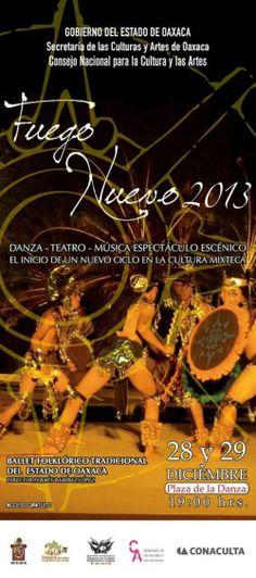 Fuego Nuevo December 28, 29 Plaza de la Danza 7 pm