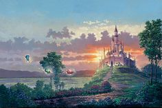 Disney Fine Art Blessings for the Princess by Rodel Gonzalez - Gallery Wrapped G - Transitional - Artwork - by Biggs Ltd. Description from houzz.com. I searched for this on bing.com/images