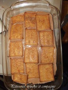tiramisu petits beurre /mascarpone au nutella