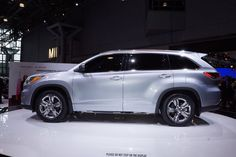 2014 Toyota Highlander live photos: 2013 New York Auto Show