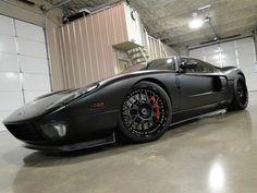 Matte Black Ford GT