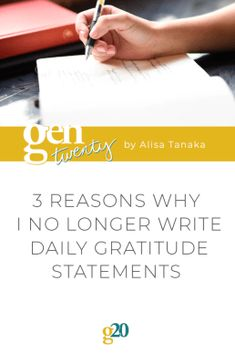 Gratitude statements haven't enhanced my life. The post 3 Reasons Why I No Longer Write Daily Gratitude Statements appeared first on GenTwenty. Health Advice, Life Advice, Life Tips, Self Development, Personal Development, Self Discovery Quotes, Writing Therapy, Quarter Life Crisis, Self Actualization