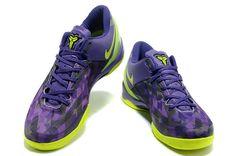 c0581c97713d Nike Kobe 8 Purple Gradient Volt Lime Green Nike Air Max For Women