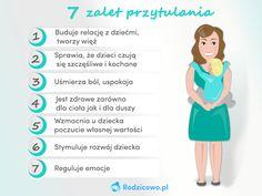 BLOG - Dlaczego warto jak najczęściej przytulać swoje dziecko? - RODZICOWO.PL Kids And Parenting, Autism, Education, Projects, Baby, Therapy, School, Log Projects, Babys