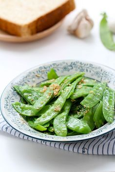 Garlic Snow Peas Stir Fry #snowpea #stirfry #veggies
