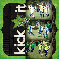 Kick It - Scrapbook.com