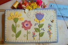 Summer's Garden Pin Cushion