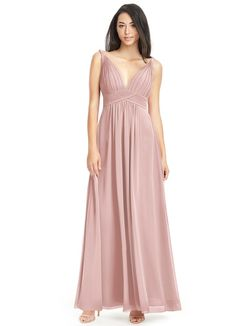 afb886aeec7 Maren is our floor-length bridesmaid dress in an A-line cut.