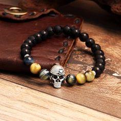 57423047aa69 45 Best Skull Bracelet images