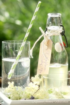 Holunderblütensirup (Rezept)