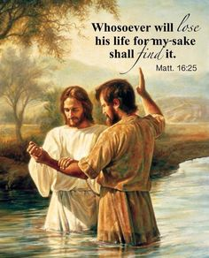 Jesus repeats this over and over again in the bible (He who loves his life loses it) Mat 10:39 He that findeth his life shall lose it: and he that loseth his life for my sake shall find it. Mat 10:40 Mar 8:34 (Jesus repeated this so many times a must read )Mar 8:35 Mar 8:36 Mar 8:37 Mar 8:38 Luke 14:26 Luke 14:27 Mat 16:24 Mat 16:25 Mat 16:26 Mark 8:35 Mark 8:36 (die to our flesh walk in his spirit)