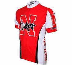 Adrenaline Promotions Men's University of Nebraska Huskers Cycling Jersey | Scheels