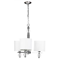 For living charlotte 3 light chrome chandelier lighting pinterest chand - Lampe suspendue ikea ...
