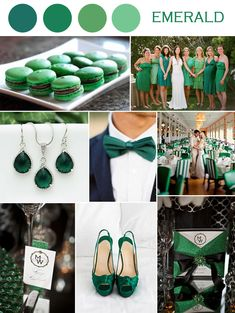 Wedding Color Ideas Emerald Green Weddings And Invitations 2017
