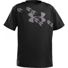 Under Armour Boys Deer Tracks T-Shirt - Black - Mills Fleet Farm