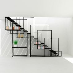 Square Staircase - Design + Weld