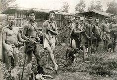 aboriginals in Taiwan, Saisiyat hunters and theirs formosan mountain dogs #Taiwan #aboriginal #hunting